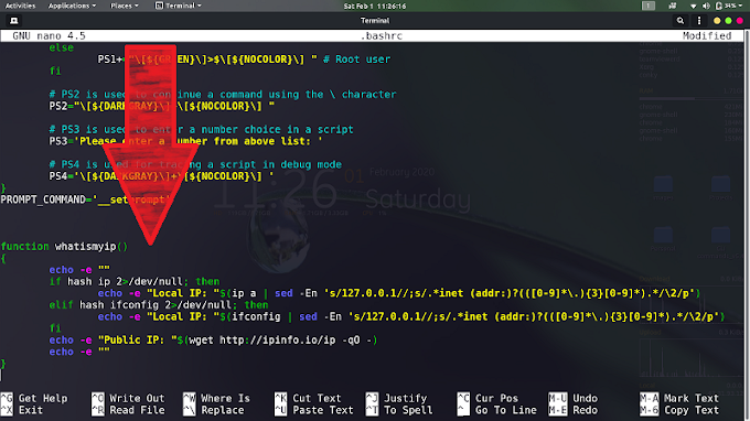 Kali Linux | Check your Local and Public IP addresses in your terminal with single command