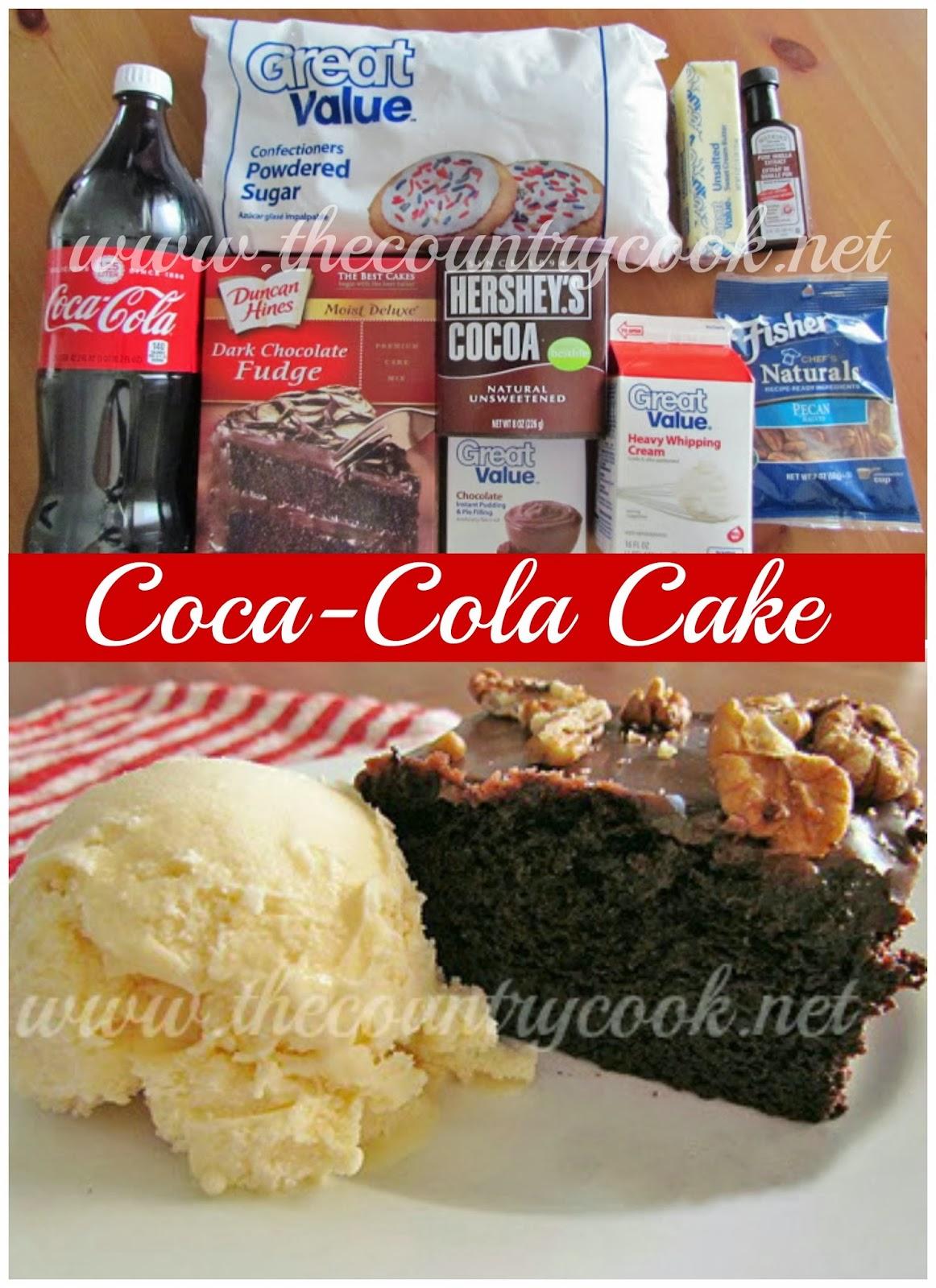 Diet Coke Cake Mix