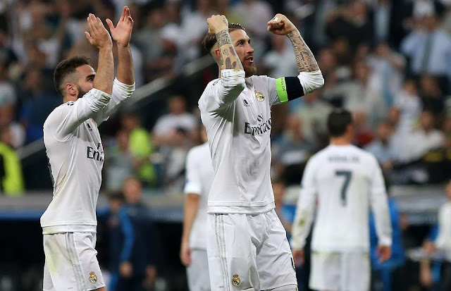 Real Madrid Captain Ramos Angry With Teammate Carvajal Tattoo Swipe