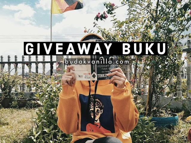 Giveaway Buku by BudakVanilla.com