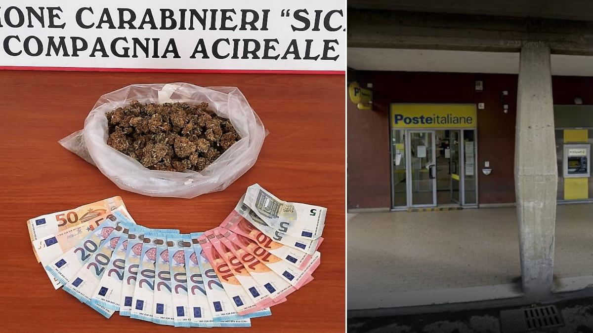 Carabinieri pusher reddito di cittadinanza Viagrande