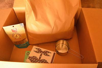 Subscription grain-free dog food box