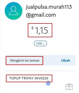 Formulir Pembayaran Paypal