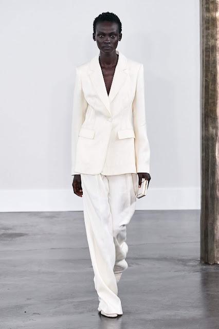 Gabriela Hearst runway fashion SS20 trends be fashion blogger Kelly Fountain