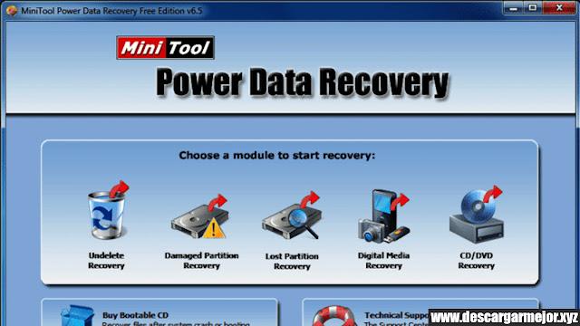 Descargar Minitool Power Data Recovery