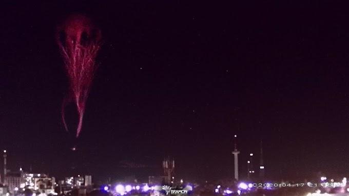 Fenômeno raro é registrado no céu da Paraíba