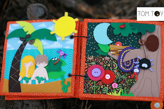 Bible quiet books handmade by TomToy Creation