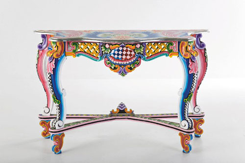 Painted Furniture Table Drawer Designs