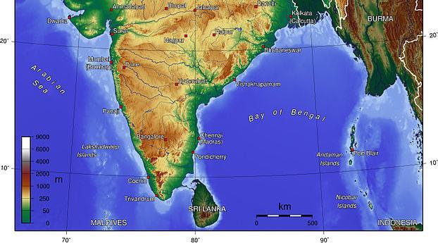 about coastal plains of india