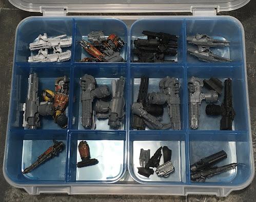 Adeptus Titanicus Spare Weapons Storage