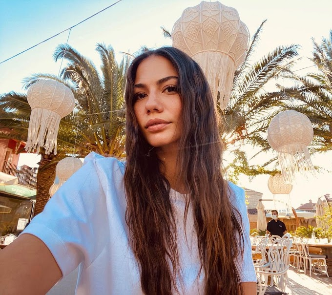 """Demet Özdemir, talking about dealing with success: """"I'm not afraid of losing popularity but of losing people's love""""."""