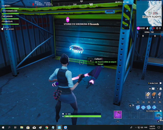 Found within an airport hanger FORTBYTE Mission #75