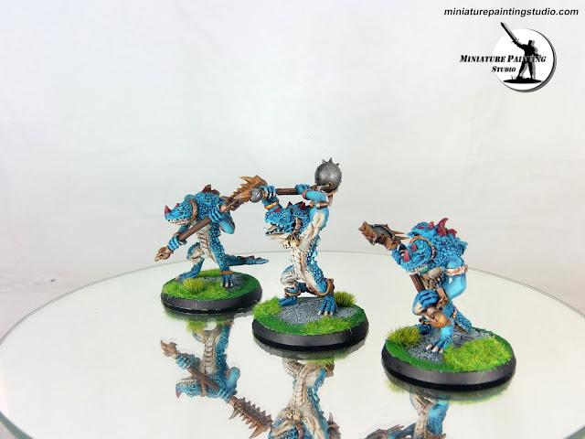 lizardman kroxigors warhammer