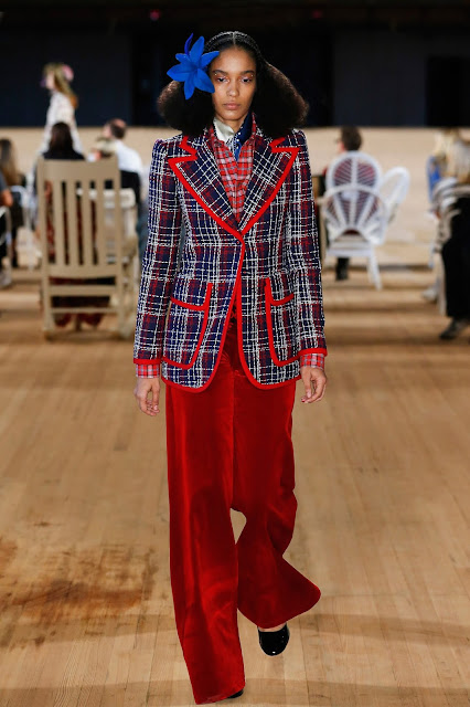 Marc Jacobs runway fashion SS20 trends be fashion blogger Kelly Fountain