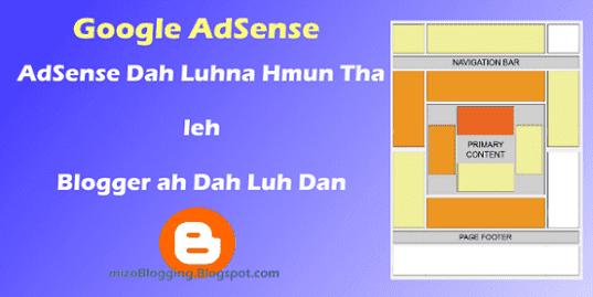 Google AdSense placement tha ber te