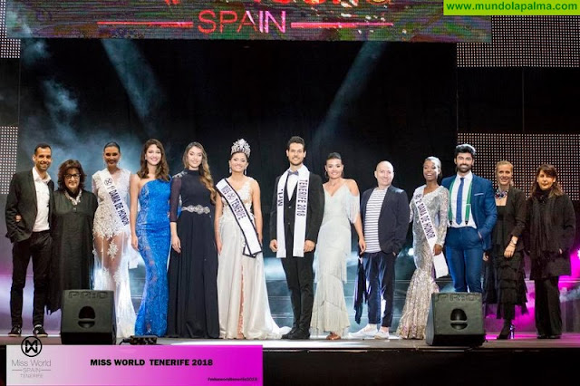 La Palmera Amelia Fuentes es proclamada Miss Mundo Tenerife 2018