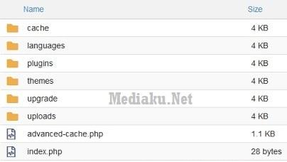 Kompres Folder wp-content