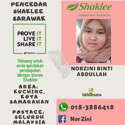 Pengedar Shaklee Kota Samarahan 0183886418