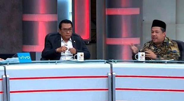 Jubir Prabowo Usul Fahri Hamzah Gantikan Moeldoko di Istana
