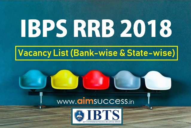 Vacancy List 2018: Bank-wise & State-wise