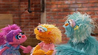 Rosita Gets Upset at Zoe and Abby. Sesame Street Preschool is Cool Making Friends