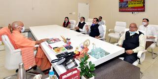 डाॅ संजय पांडेय ने मुख्यमंत्री योगी आदित्यनाथ को सौंपा ज्ञापन | #NayaSaberaNetwork