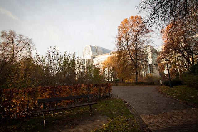 Parco del Parlamento europeo-Bruxelles