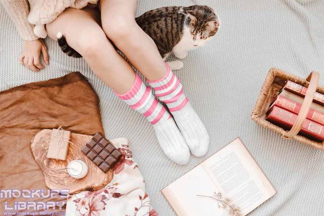 free sock mockups