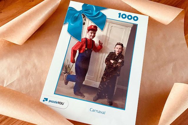 Fotopuzzel Cadeau