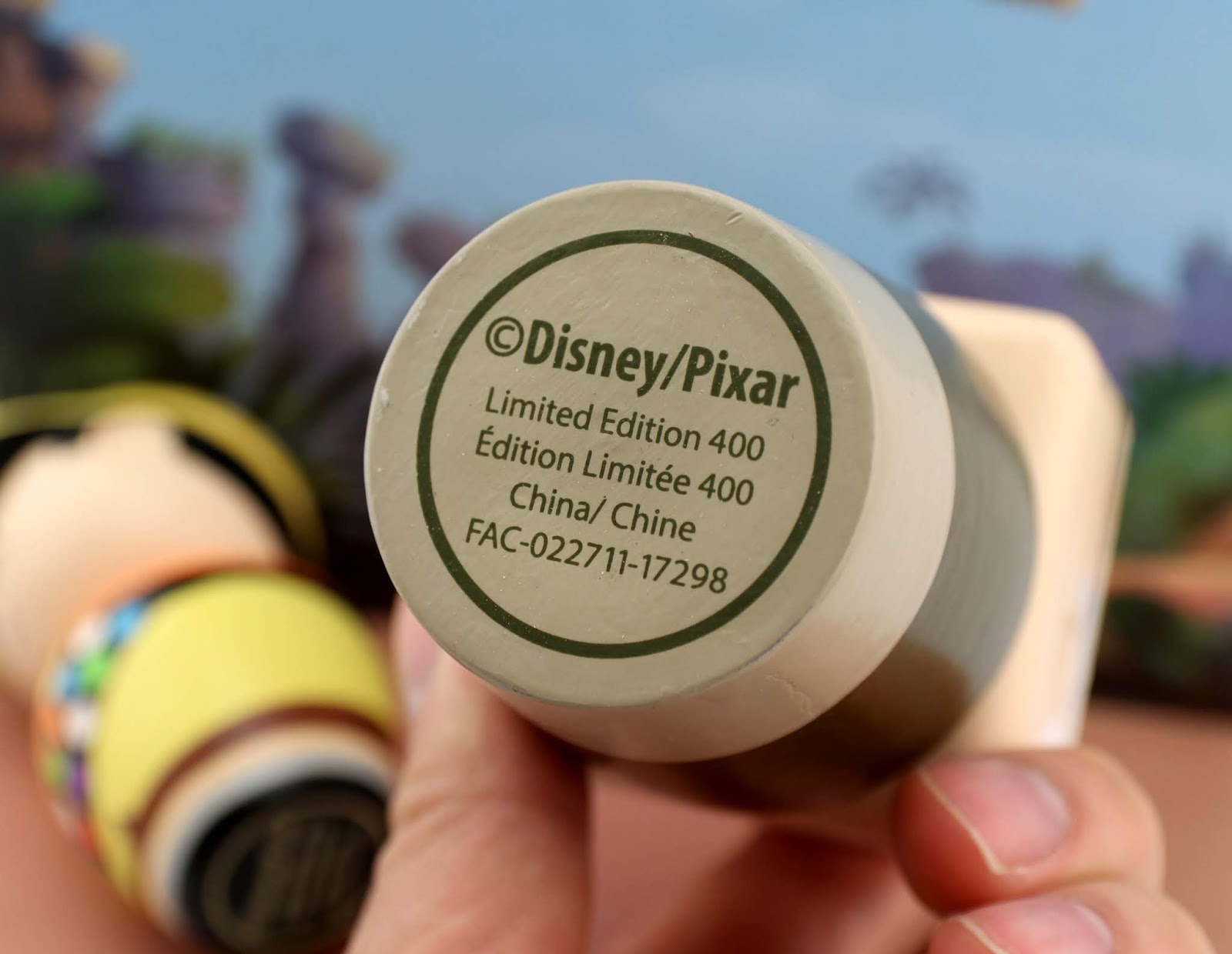 disney pixar up wooden collectibles