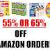 SUPER HOT!! 55%/65% off Subscribe & Save Order - Select Amazon Accounts Only