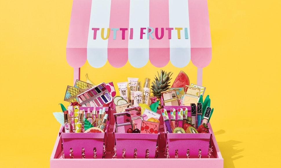 too faced, tutti frutti , rose mademoiselle , rosemademoiselle , beauty news, blog beauté, Paris , revue ,