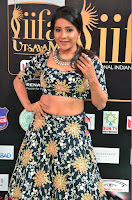 Lakshmi in a Crop Top Choli Ghagra  at IIFA Utsavam Awards 2017  Day 2 at  05.JPG