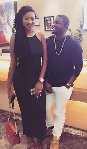 According to insiders,Shake Body crooner, Skales dumped his Nigerian sweetheart Sasay on the grounds that she's a lifelong aficionado of Wizkid.