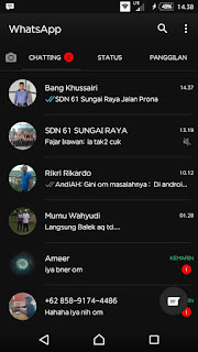 WhatsApp BLACK v2.17.254 Apk Android