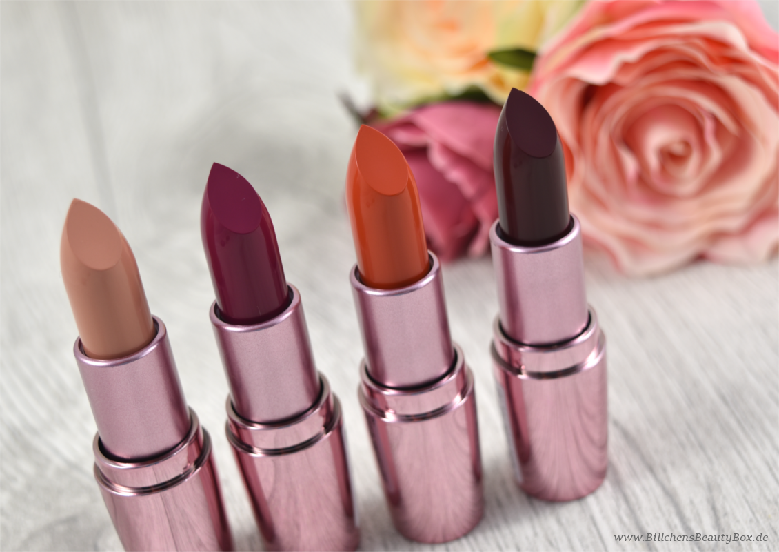 p2 cosmetics - Beauty VOYAGE Limited Edition - color fusion lipsticks