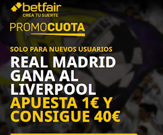 betfair promocuota Real Madrid gana Liverpool 6-4-2021