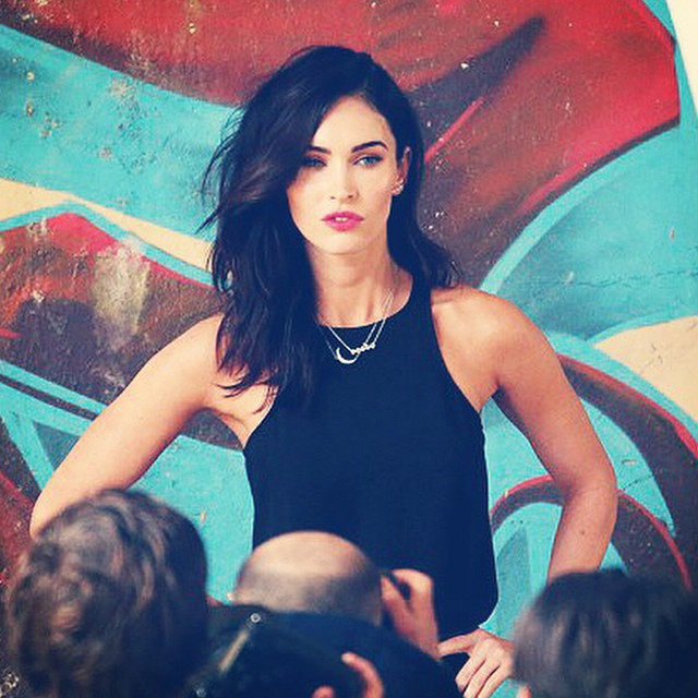 Megan-Fox-beautiful-look-in-short-hair
