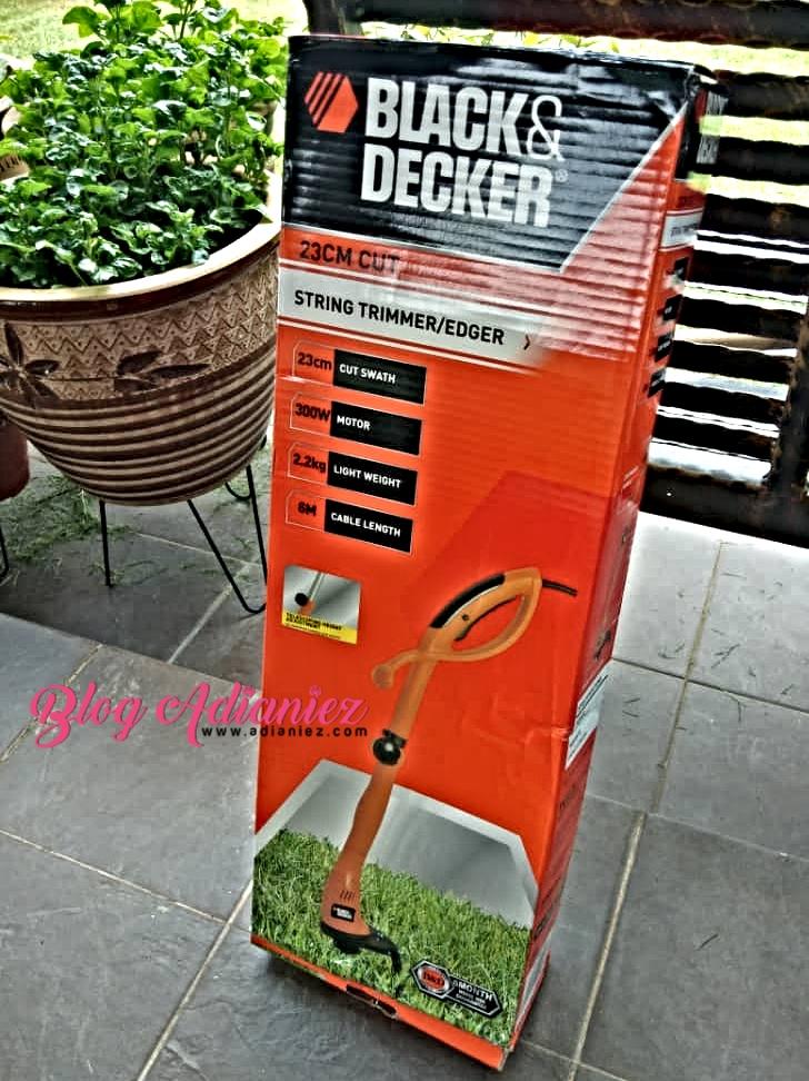 BLACK & DECKER GL300 Grass Trimmer GL300 (300W) | Ada rumput karpet, mesti ada mesin rumput