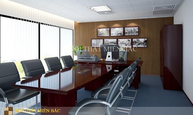 Tư vấn thiết kế nội thất phòng giám đốc hợp phong thủy - H2
