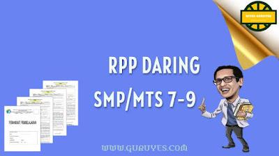 Admin akan berbagi perangkat yang dapat bapak Download RPP Daring SMP/MTs Kelas 7, 8, 9 Lengkap K13 Semester 1 dan 2