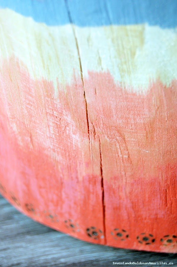 Combinación de tinte y pintura