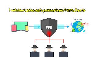 ما هو ال vpn ؟ وفيما يستخدم وكيف يمكن استخدامه ؟