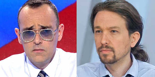 Risto Mejide y Pablo Iglesias