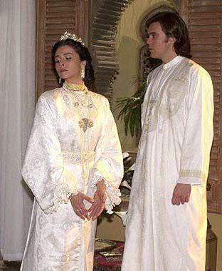 Jade e Said cena casamento