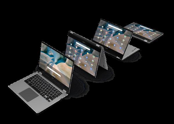 Acer lança o seu Primeiro Chromebook com Processadores Móveis AMD Ryzen e Gráficos AMD Radeon - CES 2021