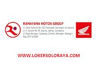 Loker Solo Raya Marketing Eksekutif di PT Ramayana Solo Mandiri
