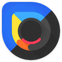 Blackdrop icon pack apk latest