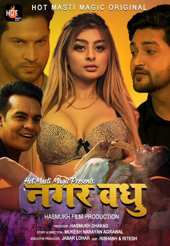 Nagar Vadhu 2021 Hindi S01E01 Hotmasti Web Series 720p HDRip 260MB x264
