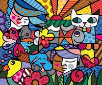 Clique para vê mais de suas pinturas